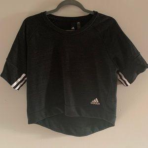 Adidas Hi Lo Crop Top